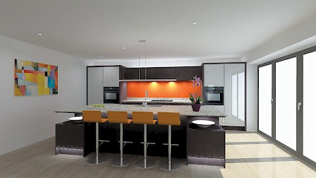 One Kitchen Four Designs